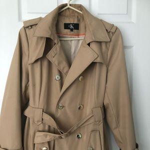 Ladies Authentic CK Trench Coat